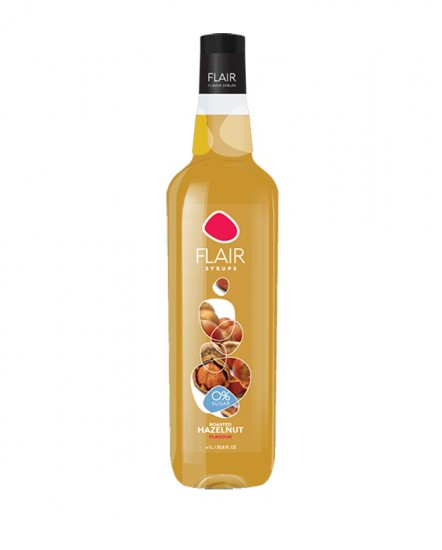 Flair Syrup Hazel 0% Sugar 1lt