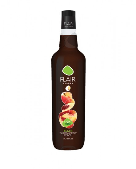 Flair Black Tea Peach Light 1lt