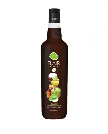 Flair Black Tea Mixed Fruit Light 1lt