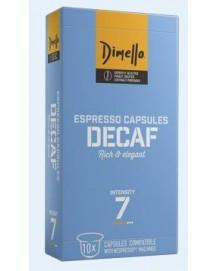 Decaf κάψουλες espresso