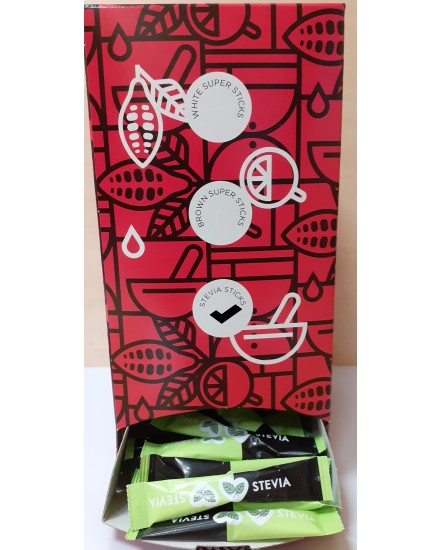DISPLAY STEVIA STICKS  Stevia 2gr. - 250items