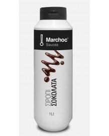 Marchoc Σιρόπι Μαύρη Σοκολάτα 1lt
