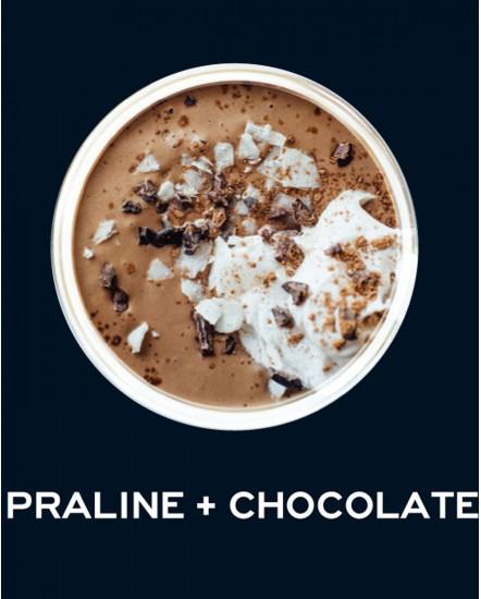 Milkshake Πραλίνα και σοκολάτα