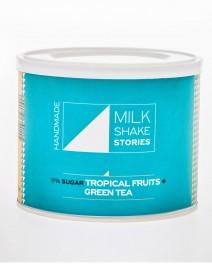 Milkshake Τροπικά Φρούτα & Πράσινο Τσάι - 0% Ζάχαρη