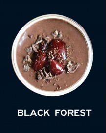 Milkshake Black Forest