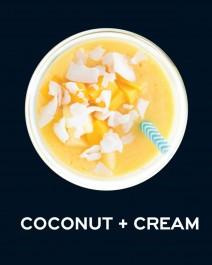 Milkshake Καρύδα & Κρέμα