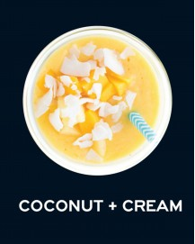 Milkshake Coconut + Cream