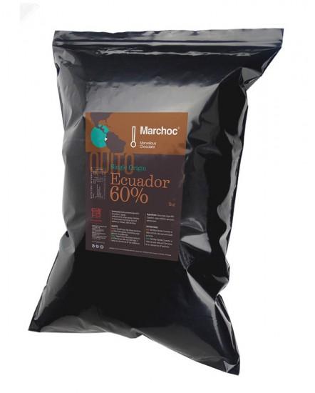 Marchoc Single Origin Equador (60% Cocoa), 1kg